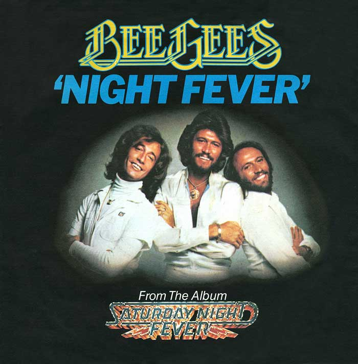 Bee Gees - Night Fever on WLCY Radio